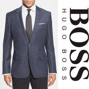 Hugo Boss Hutsons textured solid slim sport coat